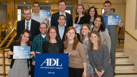 ADL Leadership Conference at the Mayflower Hotel in DC.
