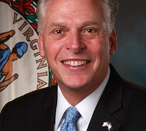 Governor Elect Terry McAuliffe